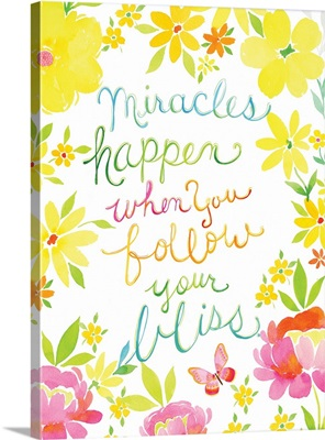 Be Happy - Miracles Happen