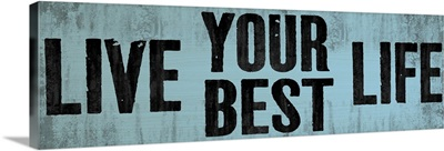 Be Your Best Self, blue
