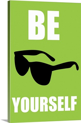 Be Yourself sunglasses, green