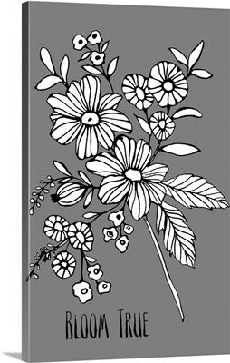 Bloom True black/white