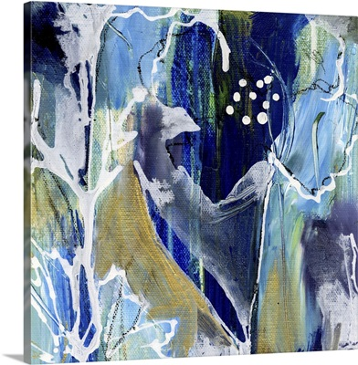 Blue/White Flowers II