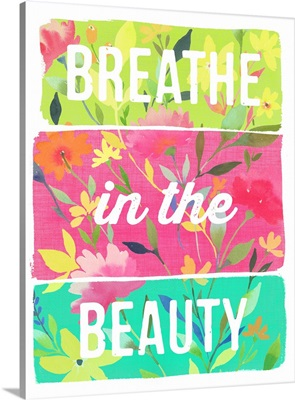 Breathe in the Beauty planks