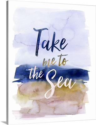 Coastal Living - Take Me to the Sea blue
