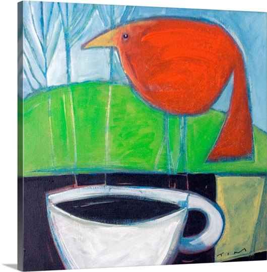 Coffee with Red Bird