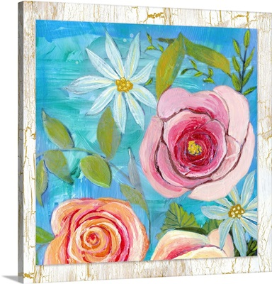 Colorful Garden Pink Flower