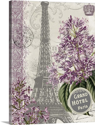 Eiffel Tower Lilacs