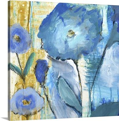 Fat Blue Flowers