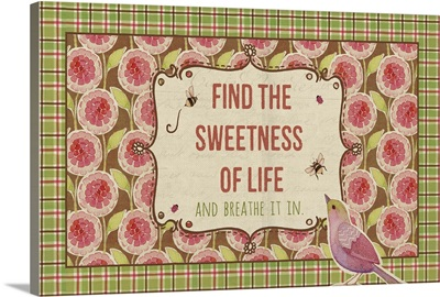 Find the Sweetness, horizontal