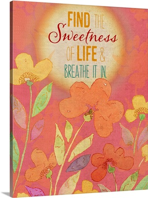 Find the Sweetness of Life