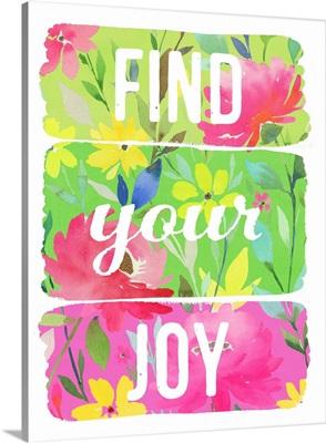 Find Your Joy planks