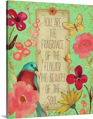 Fragrance Of The Flower
