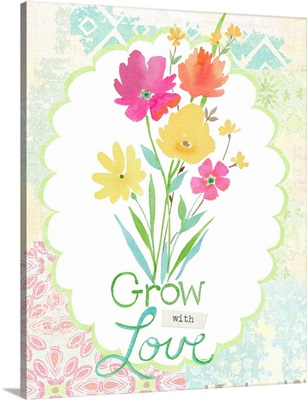 Grow with Love bouquet