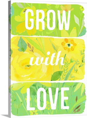 Grow with Love planks