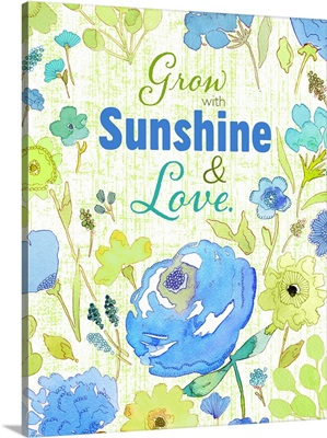 Grow with Sunshine blue