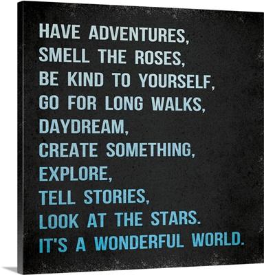 Have Adventures lt, blue