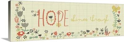 Hope Shines Through