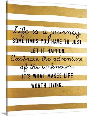Journey, Gold Stripes