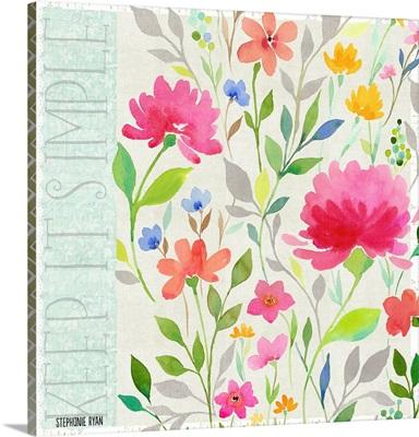 Keep It Simple floral