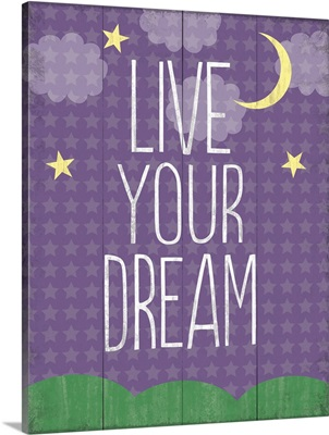 Live Your Dream, moon