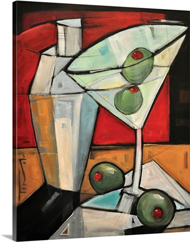 Martini Wall Art, Canvas Prints, Framed Prints, Wall Peels | Great ...