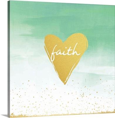 Organic Gold - Faith Heart