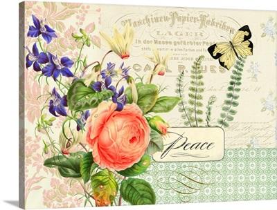 Peace Florals I