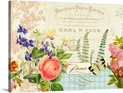 Peace Florals II