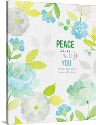 Peace Lives within You