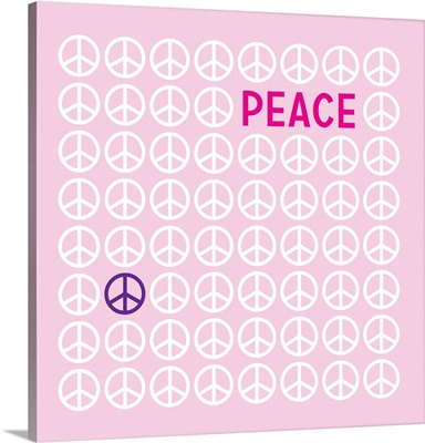 Peace pink