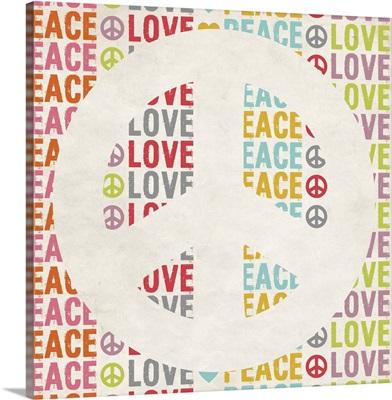Peace Sign peace love