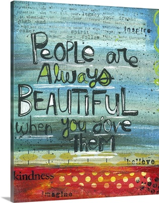 People Are Always Beautiful