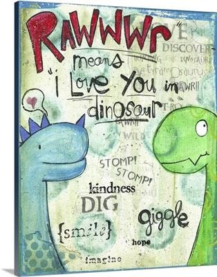 Rawwwr Dinosaur