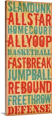 Slamdunk Typography Art