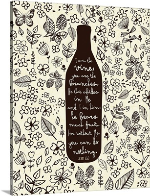 Vine bottle coloring