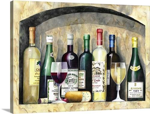 Vintage Wine Wall Art Canvas Prints Framed Prints Wall Peels Great Big Canvas
