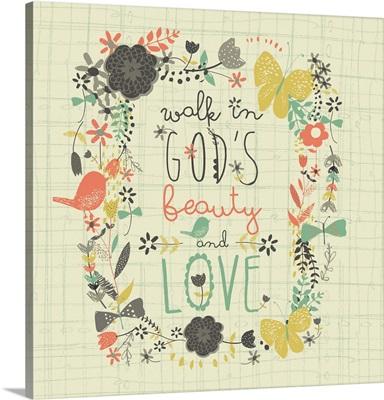 Walk in God's Beauty
