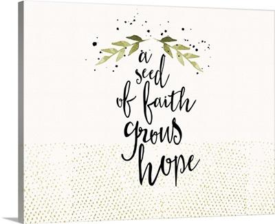 Wonder Seed Grows Hope