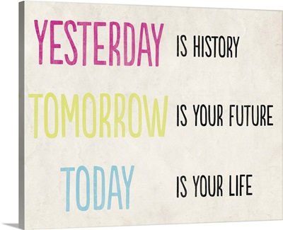 Yesterday is History, cream