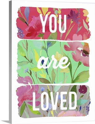 You are Loved planks