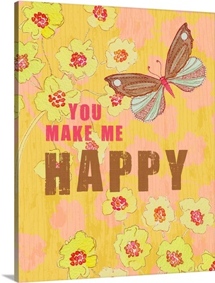 You Make Me Happy butterfly