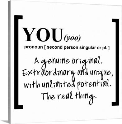 You Pronoun