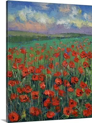 Arabesque - Poppy Landscape