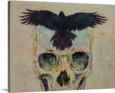 Black Crow Skull