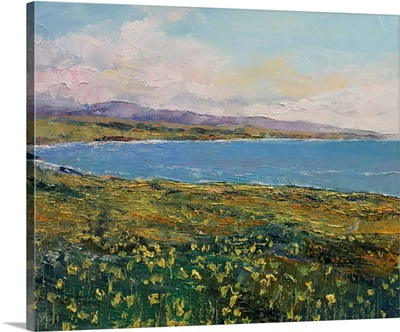 California Poppies Seascape