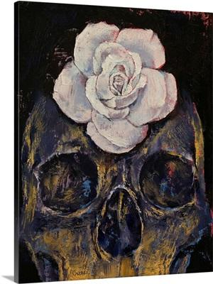 Dusty Rose - Skull
