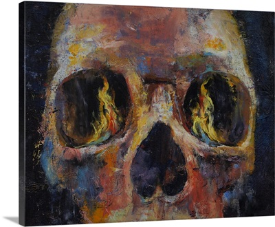 Guardian - Skull Painting