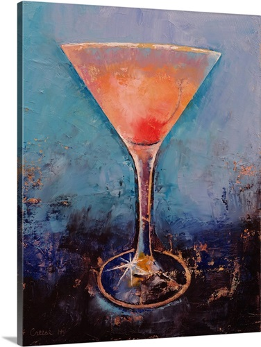Pink Lemonade Martini Wall Art, Canvas Prints, Framed Prints, Wall ...