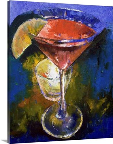 Pomegranate Martini Wall Art, Canvas Prints, Framed Prints, Wall ...