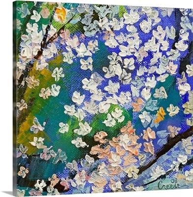 Sakura Oil Painting