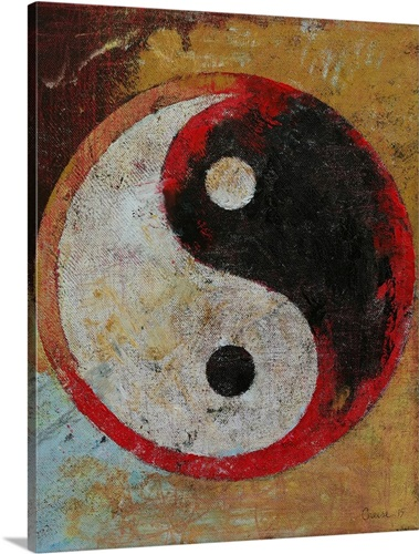 Yin Yang Dragon Wall Art, Canvas Prints, Framed Prints, Wall Peels ...